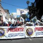 ¡Somos cientos en el PARO NACIONAL! ¡NO AL REAJUSTE MENTIROSO! http://t.co/hX14UXzpsN