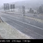 10:13 am – Giant flakes of #snow falling on I-270 between Frederick and the #DC Beltway (via @MDSHA) – #Cato http://t.co/Zw40nOKMeD