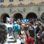 Se unen las marchas de los @MagisterioNac y @anefchile #LaSerena @elobservatodo @LaSerenaOnline @IgualdadPartido http://t.co/iVHNQ0TAty