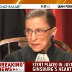 BREAKING: Supreme Court Justice Ruth Ginsburg underwent heart surgery http://t.co/3MbPtoM7DH http://t.co/Xv01616EH0