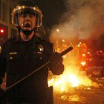 """REMINDER: Protesting injustice=""""thugs."""" Rioting after a sporting event=""""fan revelry"""" #Ferguson http://t.co/xWRzVBXbHo http://t.co/LGtH64MCOF"""