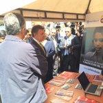 Presidente @JuanManSantos recorre a esta hora la feria de empleo @ServiciodEmpleo @SENAComunica @MintrabajoCol http://t.co/uXgGSRErLf