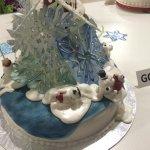 Glittery goodness @EdmontonSCC gingerbread contest #festivaloftrees2014 #yegfood http://t.co/83dr5PPwEn