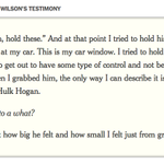 What Darren Wilson told the Michael Brown grand jury http://t.co/mHVdCqe7yd http://t.co/bRUANHF2z4