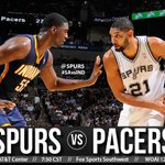 Spurs take on the @Pacers tonight at 7:30 on @FSSouthwest! #SAvsIND Preview → http://t.co/O5U78NAwtF http://t.co/TaLfKgIgQj