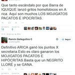 IMPRESENTABLE! Alcalde UDI de Alto Hospicio trata a ariqueños de MOJIGATOS PACATOS E HIPÓCRITAS http://t.co/DsSkvyPFOp