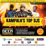 Come join us this Saturday at uganda museum @KampalaBeerFest @davidmwima @DTurnt_live @Segziejussmoovd @dian_kwase http://t.co/U0ZzYmcPyK