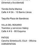 Los siguientes son los Puntos de venta de Boleteria del @Cucutaoficial vs @DptsQuindio, 6 puntos habilitados en total http://t.co/2DahyWfzCh