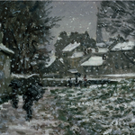If youre not ready for #Bostons first Noreaster of the season, spend the afternoon with #Monet at the MFA. http://t.co/bbNwN6Gffo