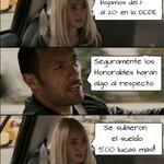#YoMeRebelo La economía por el Suelo #ParoDocente y estos Weones subiendose el sueldo #BajateElSueldoCareRaja http://t.co/LOqNiWQxUs