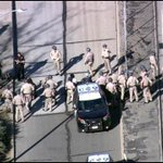 #ALERT: A protest has shut down the 101 Freeway southbound near Alvarado. Police on scene. Northbound flowing. http://t.co/IIxHuatXJD