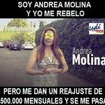 """""""@yolosconozco: Increíble lo caradura que es la derecha y en especial la UDI. #YoMeRebelo : http://t.co/SqGX6s3CB5""""// @diputadamolina"""