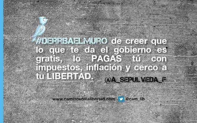 ¡Felicidades @a_sepulveda_f eres la ganadora del concurso Derribando Muros por la #Libertad ! #derribaelmuro http://t.co/0rlPHjsGrL
