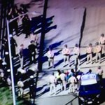 HAPPENING NOW! Avoid 101 S+N at Alvarado where protesters stormed fwy + stopped traffic. Arrests imminent. http://t.co/WUEY25zSAE
