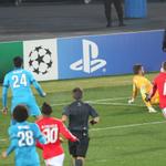 Momento perigoso do Benfica há momentos. Remate de Salvio travado por Lodygin #slblive http://t.co/yYLumcmYD3