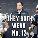 Bill Belichick delivered another classic when talking about the similarities between Aaron Rodgers and Tom Brady http://t.co/ulaIkfwqGw