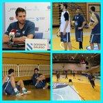 Sergio Sánchez xa traballa cos seus novos compañeiros. Benvido! #ForzaBreo #fagamosequipo http://t.co/DYlxFS5gq8