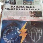 A capa do Estado de Minas hoje é simplesmente uma das capas mais geniais de 2014. http://t.co/J15FfVvNML