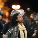 #LAPD arrests 130 protestors in second night of #Ferguson-related protests in downtown L.A. http://t.co/OyxZFqZ29e http://t.co/R5BKvR0qoR