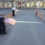 Creative! - The Estonian National Opera Parking Entrance http://t.co/33rrUI5YtO