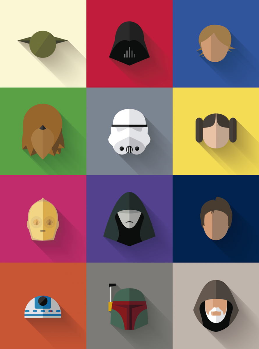 For a Star Wars fan: All your favorite characters in one poster http://t.co/vFSxwOfntJ http://t.co/VGMkpUas5O