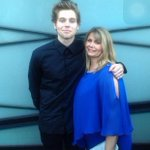 Luke and Liz yesterday at the ARIAs! http://t.co/CcfXLCl21l