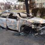 RIP Prius. survived multiple hurricanes, tornadoes, countless breaking news stories. But did not survive #ferguson http://t.co/HfrJo33p6b