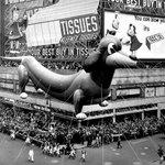 Fun: Macys Parade balloons through the decades: http://t.co/JtRVrapFeu http://t.co/xWaAYlIZ66