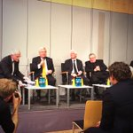 Symposium panel discussion in honour of Prof. Klaus Peter Müller begins @FrankfurtSchool #FSEvents http://t.co/fEA9VIFcU9