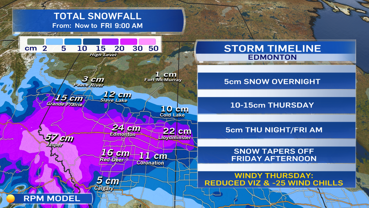 Here's what you need to know about the storm hitting #yegwx tonight/Thu/Fri  : http://t.co/A1C1SJopH5