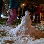 Some children made a small snowman across from the @timestribune building http://t.co/CTJmevO2vQ