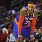 Knicks F Carmelo Anthony is out tonight vs Mavericks with back spasms. Anthony leads New York in scoring w/ 23.3 PPG. http://t.co/hJAulTgYcs