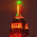 The @EmpireStateBldg suits up for Thanksgiving. #NYC http://t.co/T1tqHQzGGG