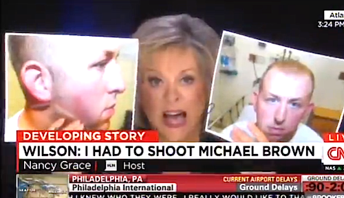 Nancy Grace Goes Off On Darren Wilson: 'It Doesn't Add Up!' #Ferguson  VIDEO-->http://t.co/Vpqp9vN2x0 http://t.co/3eV0QIaVsQ""