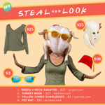 STEAL HER LOOK: Thanksgiving Monica http://t.co/nO77XhaV0q