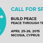 Apply now to present at #buildpeace 2015 in #Cyprus - Find out more at http://t.co/oM9xPEOxUg http://t.co/dwt0zGkDnt