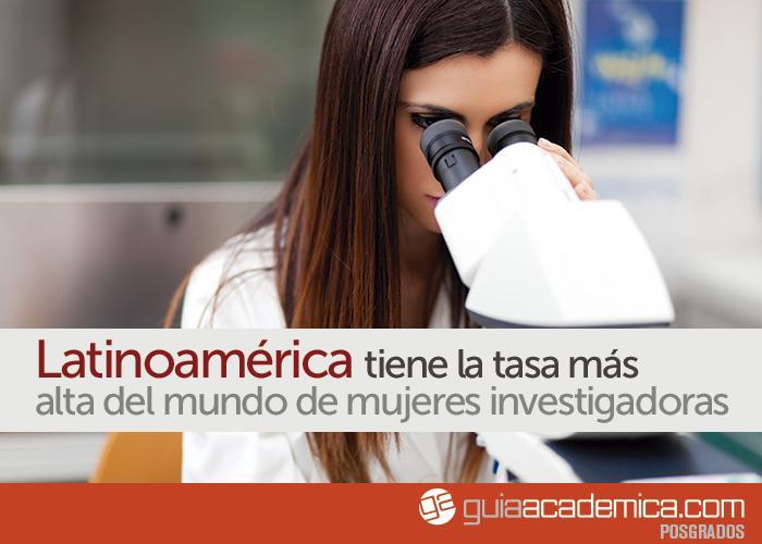 Este es el porcentaje de mujeres investigadoras en el ámbito de la ciencia en América Latina:http://t.co/gjg1WizmUo http://t.co/faHxDtzgWr