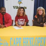 Congrats to Cape Henlopen senior Taylor Gooch for signing to play lacrosse at Temple. Good luck Taylor! http://t.co/9axiP2Ag1K