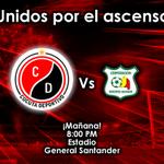 Cúcuta, llegó la hora de nuestra #EncuestaRojiNegra: ¿Asistirás mañana al estadio? - RT: Si - Fav: Sin duda. http://t.co/QFFnCcv6Bc