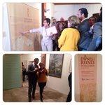 """Inauguració de sexposició """"Dones i reines de Mallorca,segles XIII i XIV"""" amb @Isabelllinas i es batle de #Llucmajor http://t.co/ZSC1FNzdtO"""