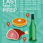 Top last-minute needs the day before Thanksgving: Ham, pie and liquor (h/t @GoogleMaps data) http://t.co/gMkEOXDcsA