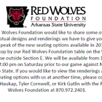 Red Wolves fans, stop by and see us this Saturday! #BeatNMState http://t.co/o3cjSZ6qQq