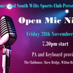 Open mic this Friday. If you have a musical talent come join us!!! #salisburyhour http://t.co/gSeLyIkwyr
