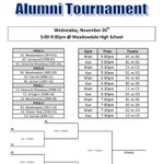 TONIGHT AT 5PM come to #TheStable for the #WescoBasketballAlumniTournament! Going to be a lot of fun! http://t.co/aelTXkjBdd