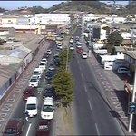 Alto tránsito por Amunátegui desde Cisternas hacia el poniente. #LaSerena / 18:01 hrs. @rsboficial @rd_montecarlo http://t.co/Jme87EsHx1