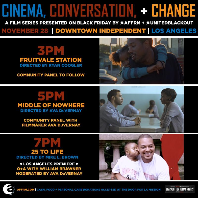 You can choose free cinema + conversation over shopping this #BlackFriday c/o @AFFRM: https://t.co/D6hLx2xj61 http://t.co/sCBDRVPWoI