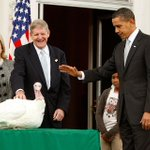 President Obama has granted 64 pardons since taking office -- nearly 20% of them to turkeys. http://t.co/X7BqBWON6Q