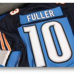 Here are the custom jerseys the Fuller parents will wear for #CHIvsDET to support both @iCoreyFuller & @kbfuller17 http://t.co/DCosg8sTPd