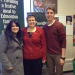 Thx Aaron & Kyra @naitnewswatch for interviewing us about our campaign to provide festive meals for 65,000 #yeg @NAIT http://t.co/oA9cI89LyB