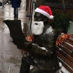 Times patriarch EJ Lynett is getting in the Christmas spirit. #TimesTower #scranton http://t.co/HaF6VBMipi